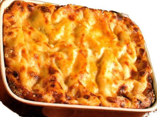 Lasagne alla mozzarella