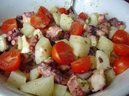 Polipo con patate