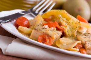 Filetto di merluzzo con patate*