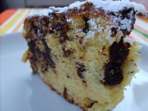 Torta ricotta e cioccolato*