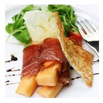 Antipasto con farinata (Cucina ligure)