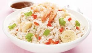 Insalata di riso e gamberetti*