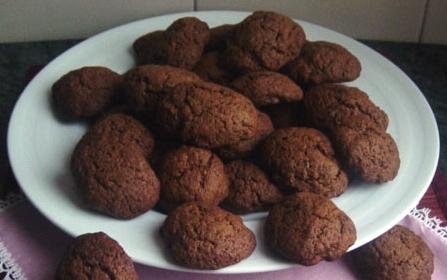 Biscotti al caffè e cacao*