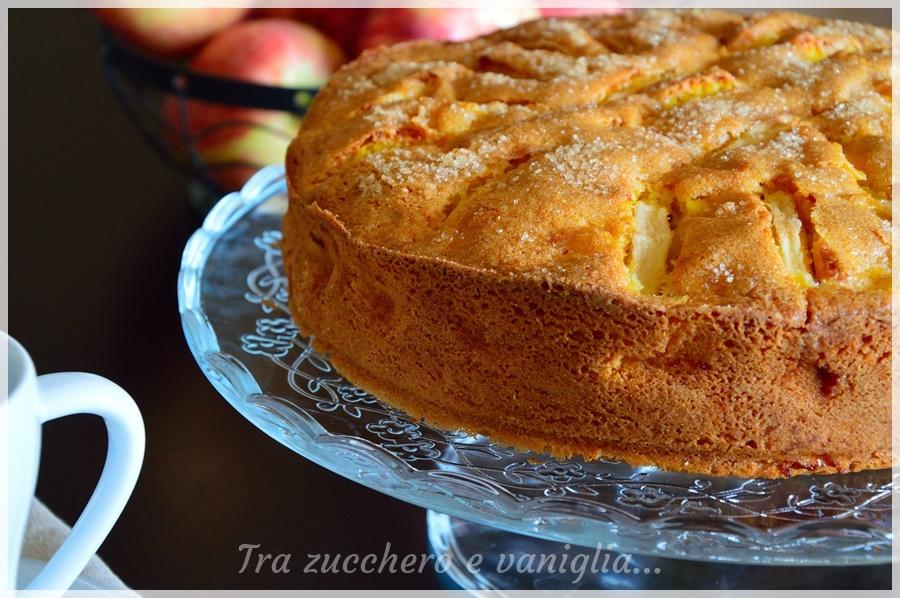 Torta rustica di mele e mendorle*