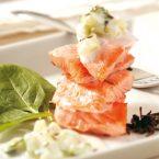 Filetto di salmone al vapore