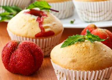 Muffin alle fragole*